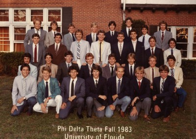 Pledge class Fall 1983